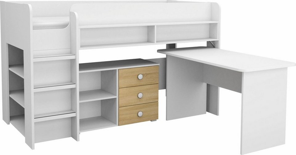 rauch Jugendzimmer-Set »Filipo«, mit Regalen und Schreibtisch online ...