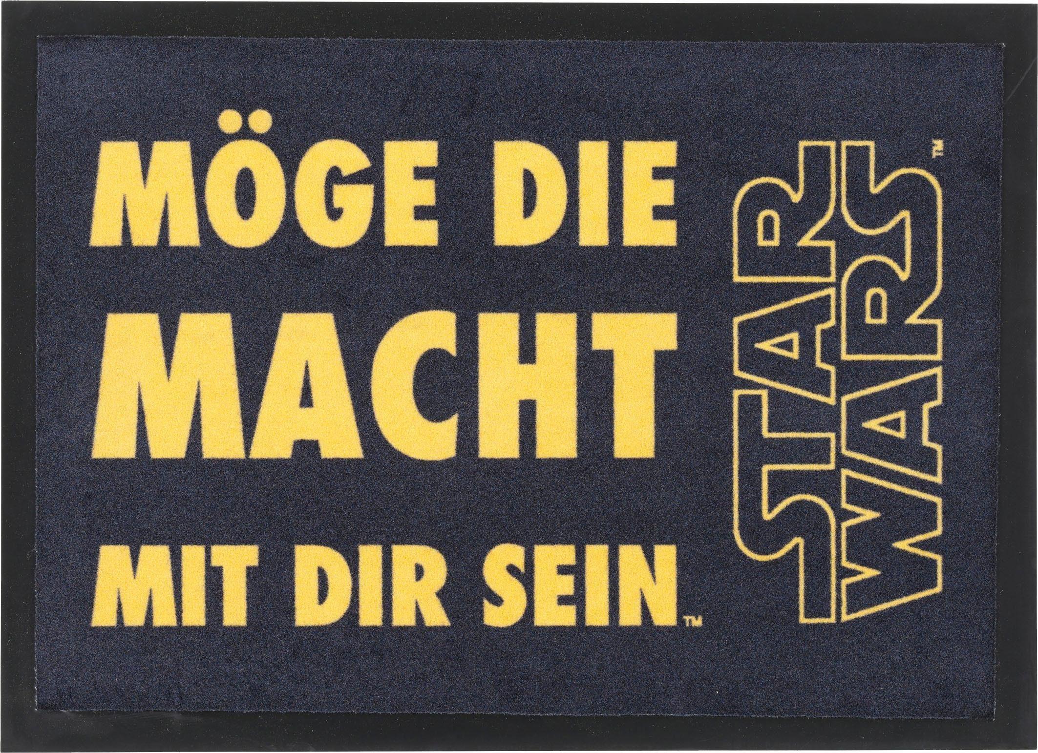 Fußmatte »Star Wars SWD-6«, Star Wars, rechteckig, Höhe 7 mm