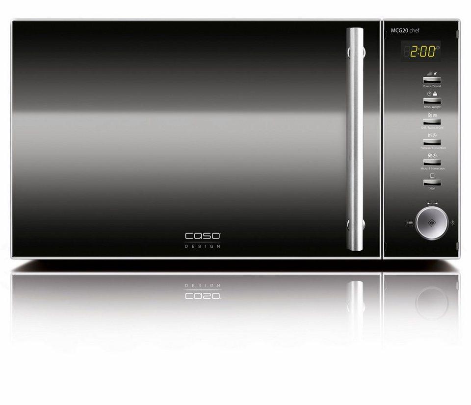 Caso Mikrowelle MCG20, 800 W, mit Grill und Heißluft online kaufen ...