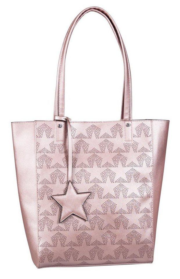 tom tailor denim shopper 187 stella 171 mit sternenprint kaufen otto