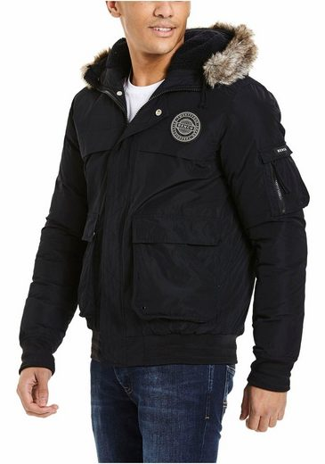Bench. Blousonjacke Hooded Bomber Jacket