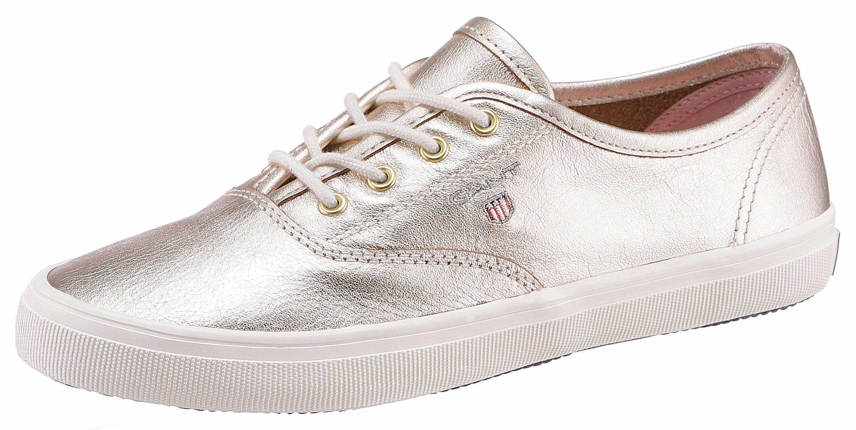 Gant Footwear Sneaker, mit Steppnaht, rosa, rosé