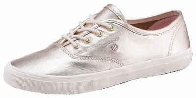Gant Footwear Sneaker, mit seitlichem Logo, gold, 39 39