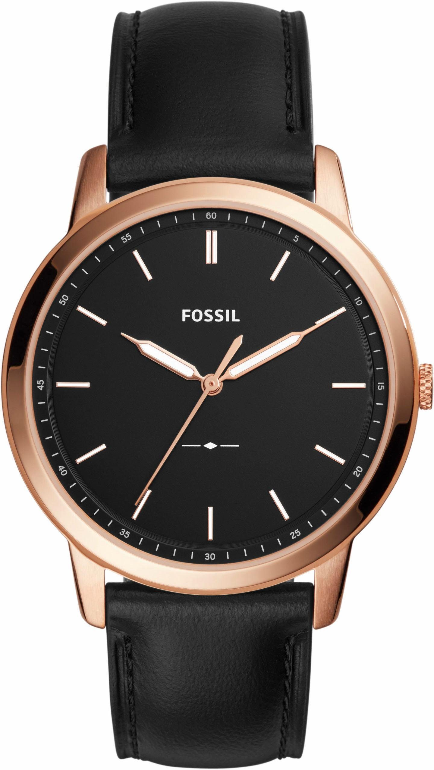 Fossil Quarzuhr »THE MINIMALIST, FS5376«