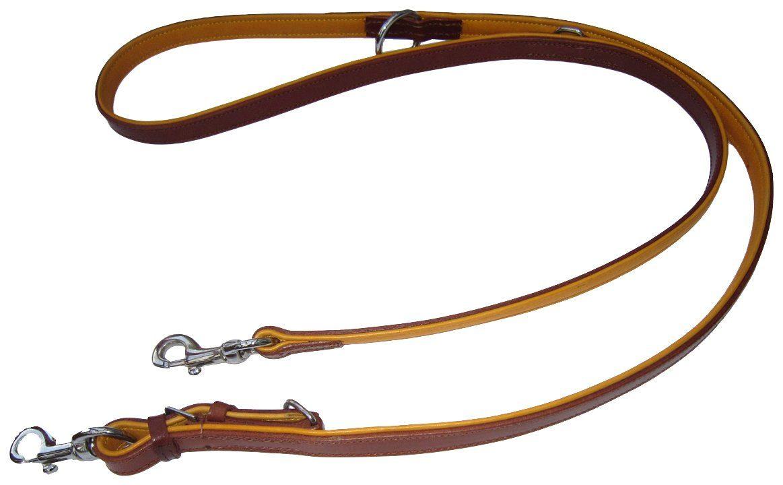 HEIM Hundeleine »Ranger«, braun/natur, Länge: 200 cm