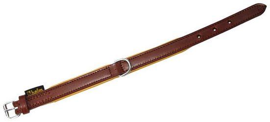 HEIM Hundehalsband »Ranger«, braun, Länge: 35 - 65 cm