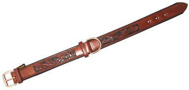 HEIM Hundehalsband »Savanne«, Cognac, Длина : 55-70 cm