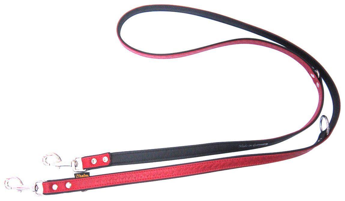 HEIM Hundeleine »Tredi«, rot/schwarz, Länge: 200 cm