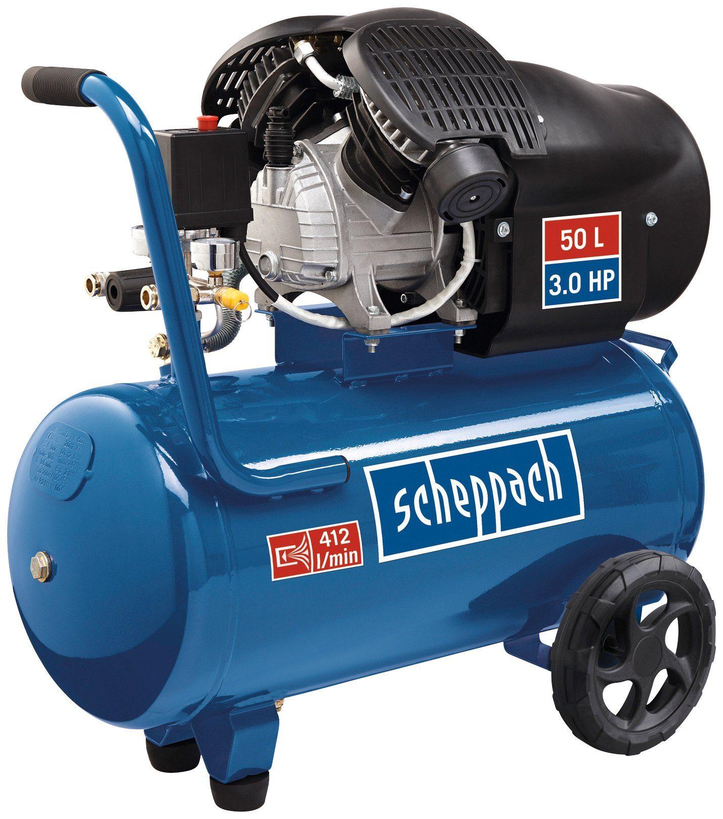SCHEPPACH Kompressor »HC52DC«, 230V 50Hz 2200W - 50L