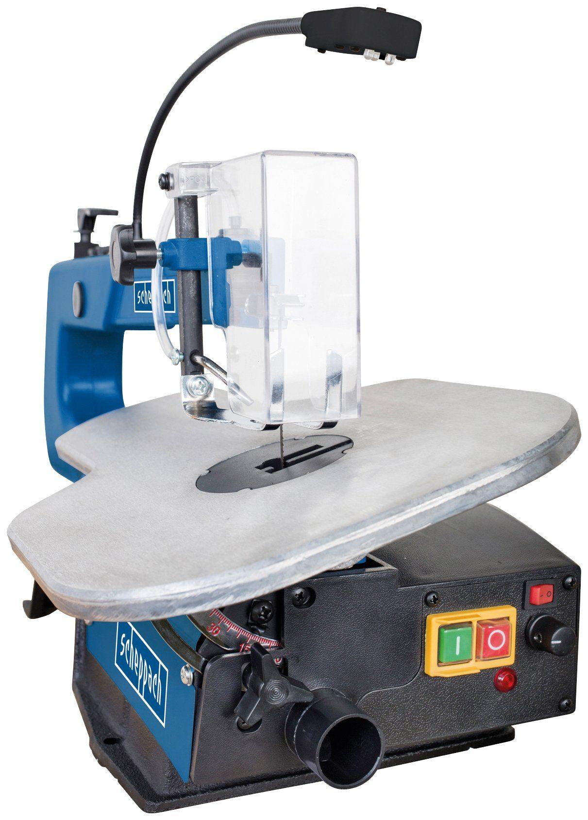 SCHEPPACH Dekupiersäge »Deco XL«, mit Pedal, 230-240V 50Hz 125W