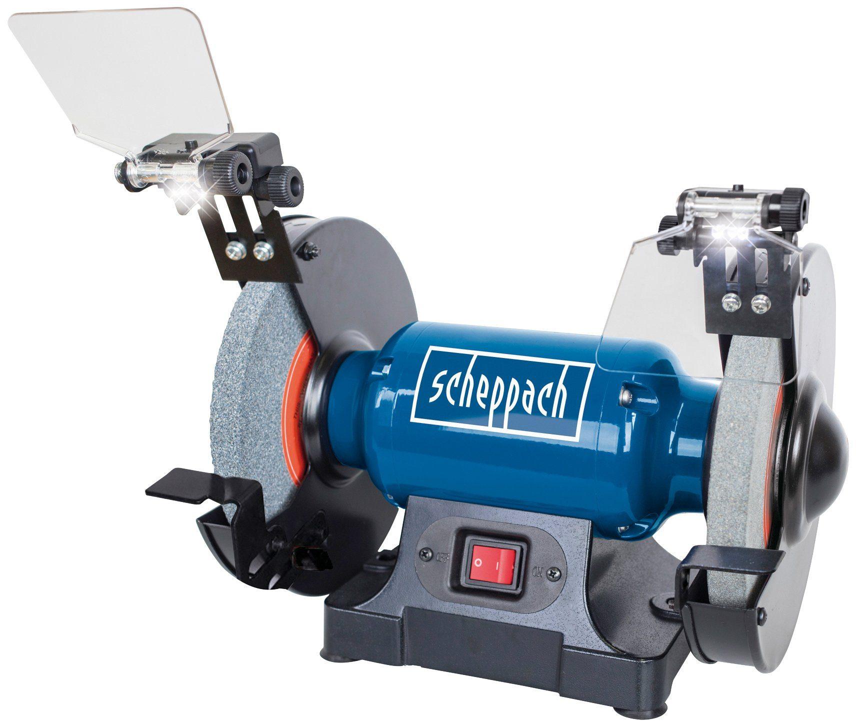 SCHEPPACH Doppelschleifer »SM200L«, mit LED, 230-240V 500W - 200mm
