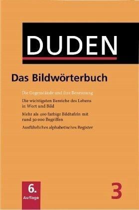Gebundenes Buch »Duden - Das Bildwörterbuch«