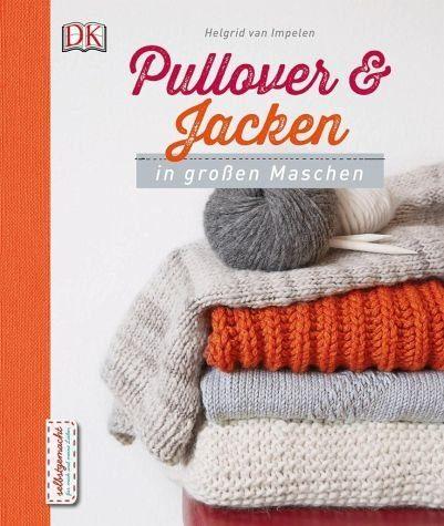 Gebundenes Buch »Pullover und Jacken in großen Maschen«