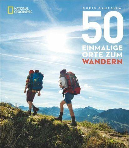 Broschiertes Buch »50 einmalige Orte zum Wandern«