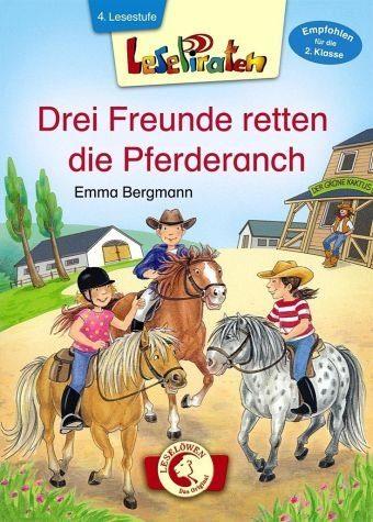 Gebundenes Buch »Lesepiraten - Drei Freunde retten die Pferderanch«