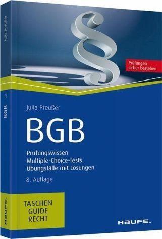 Broschiertes Buch »BGB«
