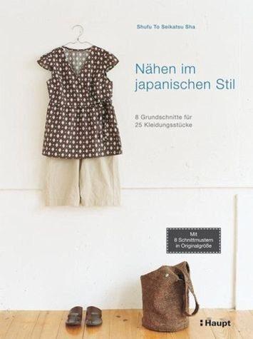 Broschiertes Buch »Nähen im japanischen Stil«