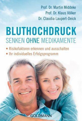 Broschiertes Buch »Bluthochdruck senken ohne Medikamente«