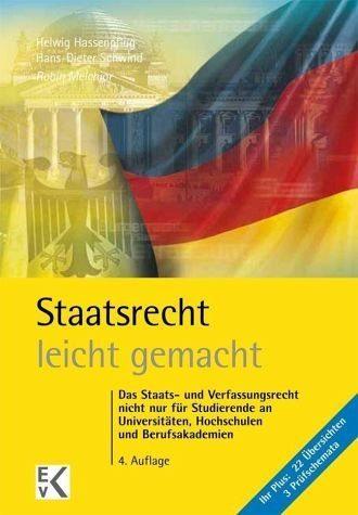 Broschiertes Buch »Staatsrecht - leicht gemacht«