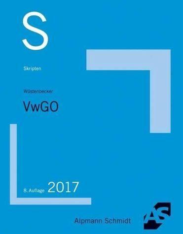Broschiertes Buch »Skript VwGO«