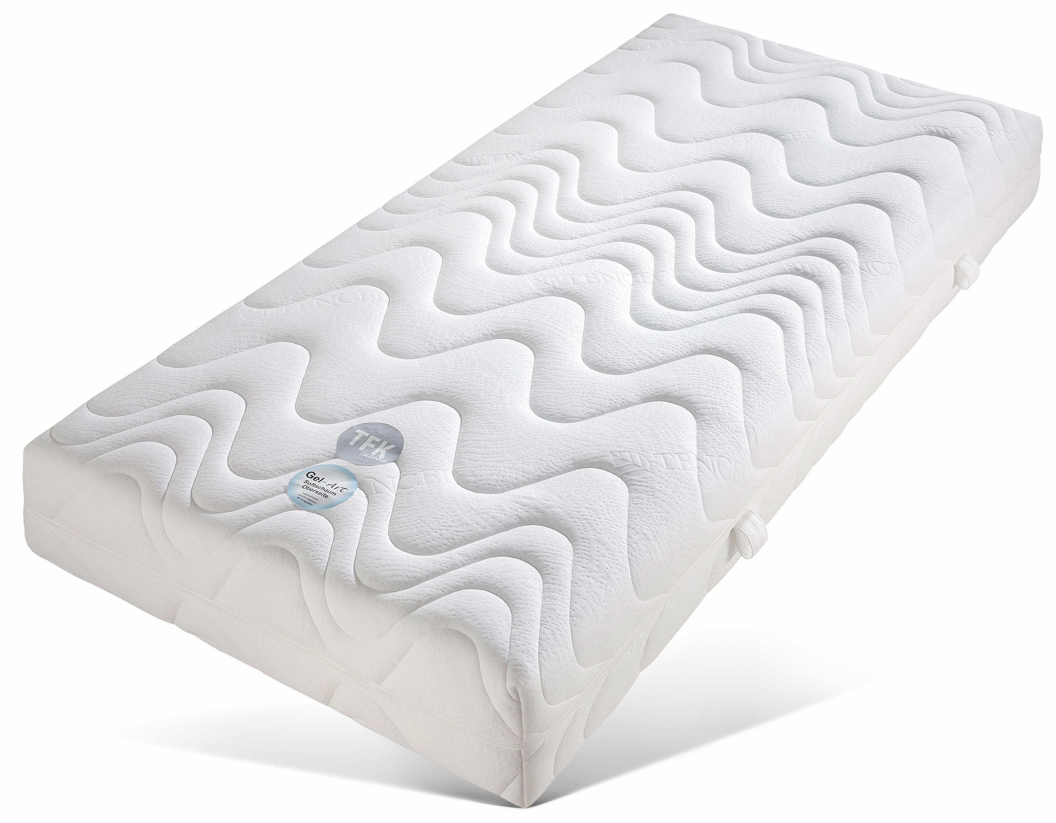 Taschenfederkernmatratze »TFK Pro Gel Luxus«, Beco, 26 cm hoch, 400 Federn, (1-tlg) | Schlafzimmer > Matratzen > Taschenfederkern | Federn | Beco