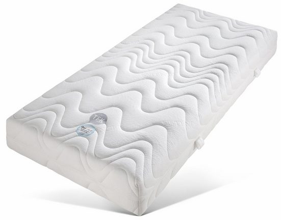 Taschenfederkernmatratze »TFK Pro Gel Luxus«, Beco, 26 cm hoch, 500 Federn, Die ideale Kombi für gesunden Schlaf