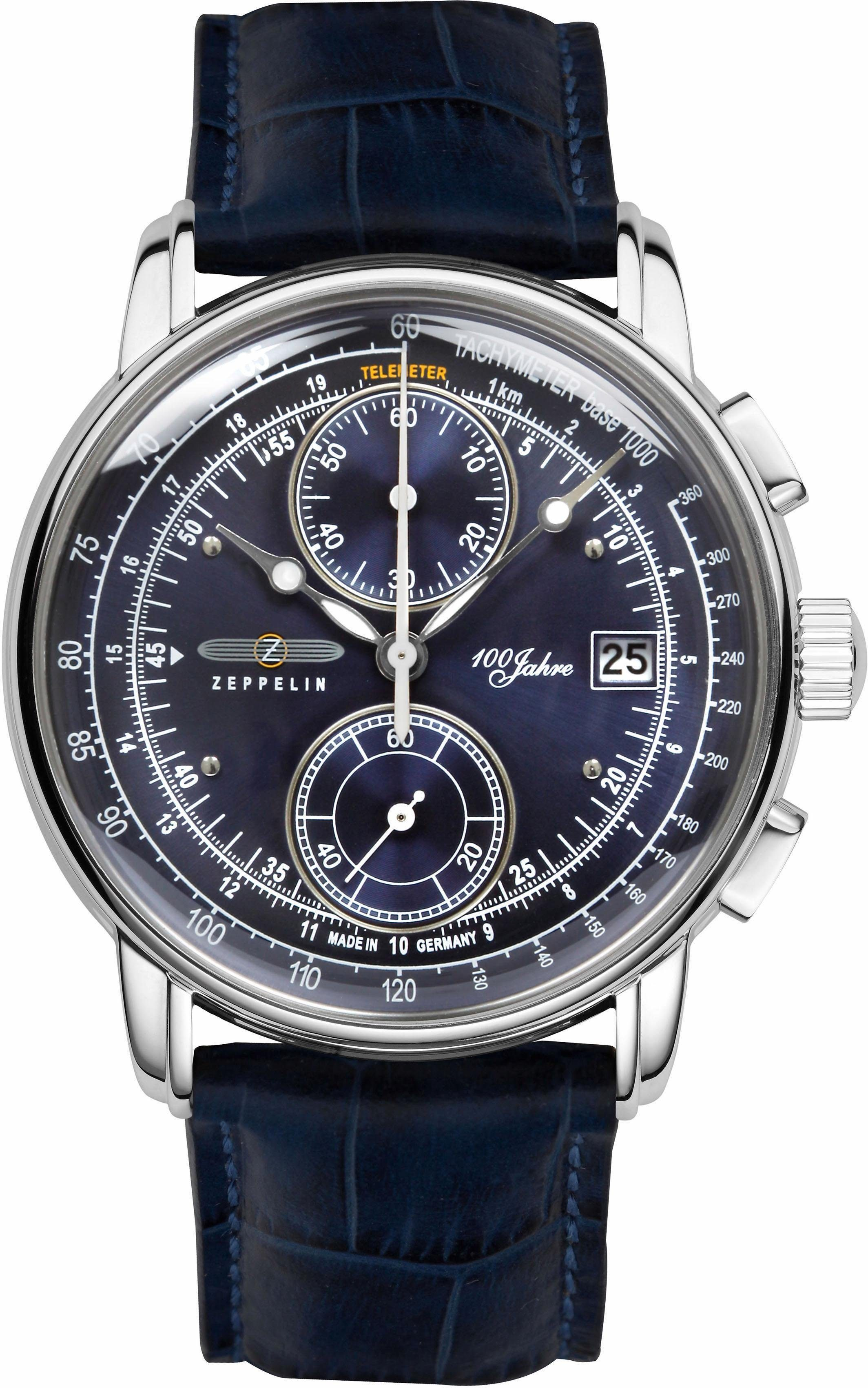 ZEPPELIN Chronograph »100 Jahre Zeppelin, 86703« made in Germany