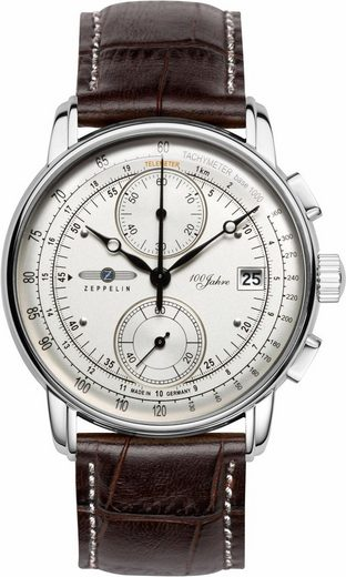 ZEPPELIN Chronograph »100 Jahre Zeppelin, 86701«, made in Germany