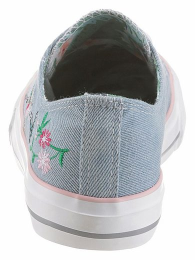 Arizona Sneaker, With Summer Embroidery