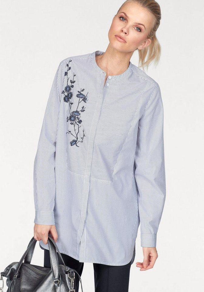 claire woman klassische bluse mit edler platzierter. Black Bedroom Furniture Sets. Home Design Ideas