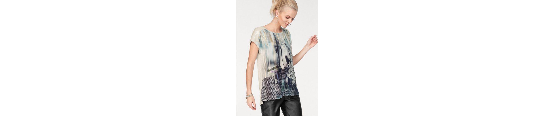 trendigem Shirt Scott Shirt Laura Print mit T mit Laura T Scott trendigem ExRqg