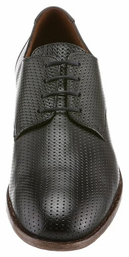 Lloyd Jamal Lace Up, With Eye-catching Allover Perforation