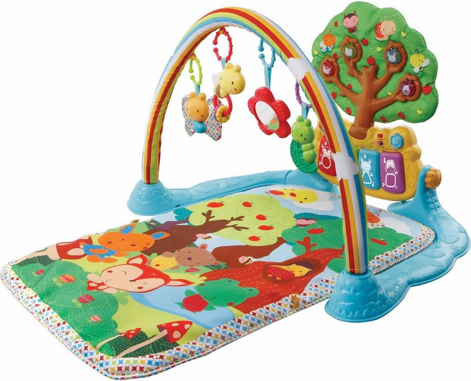 vtech krabbeldecke mit spielbogen musik spieldecke. Black Bedroom Furniture Sets. Home Design Ideas