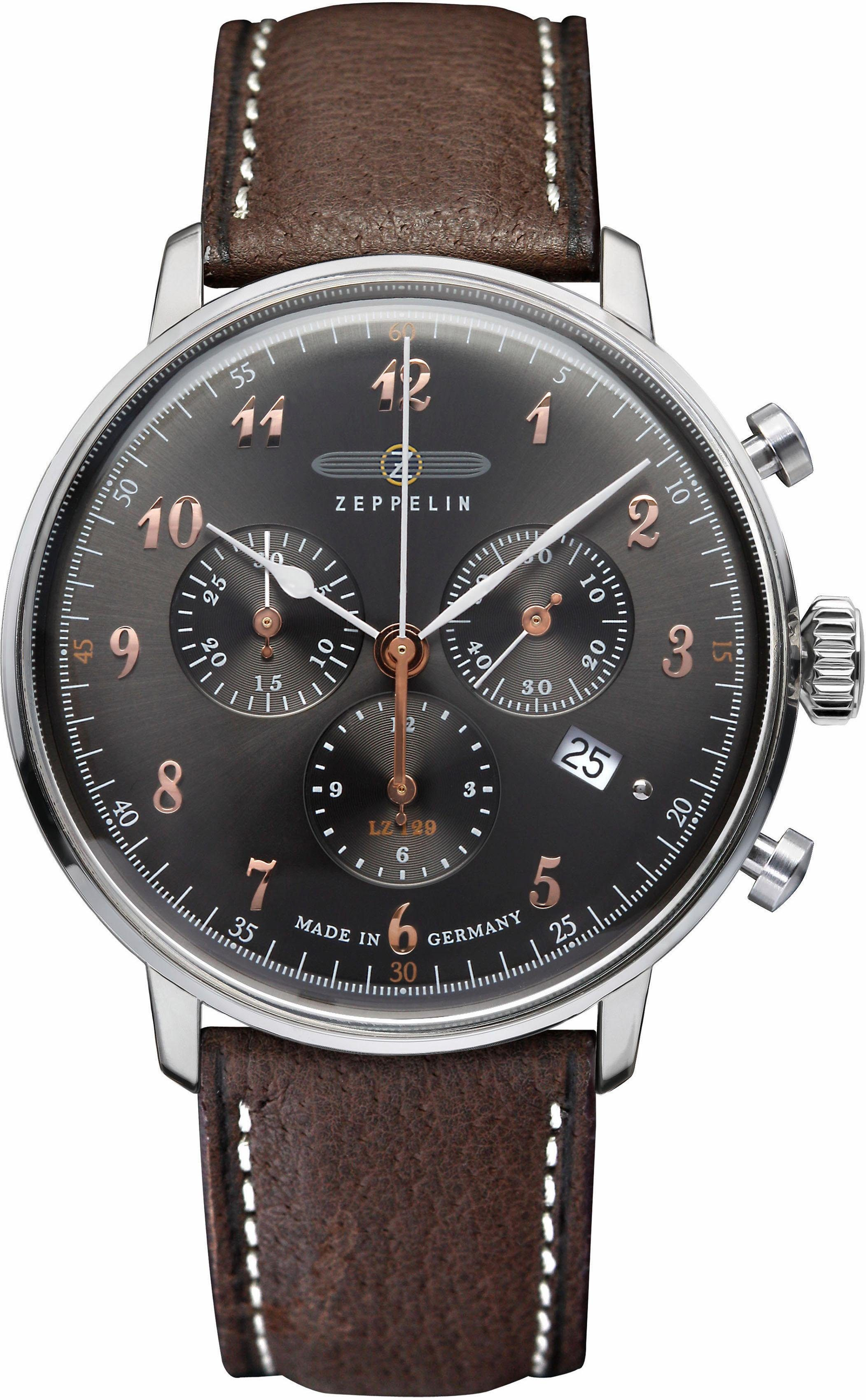 ZEPPELIN Chronograph »LZ 129 Hindenburg, 70882«, made in Germany