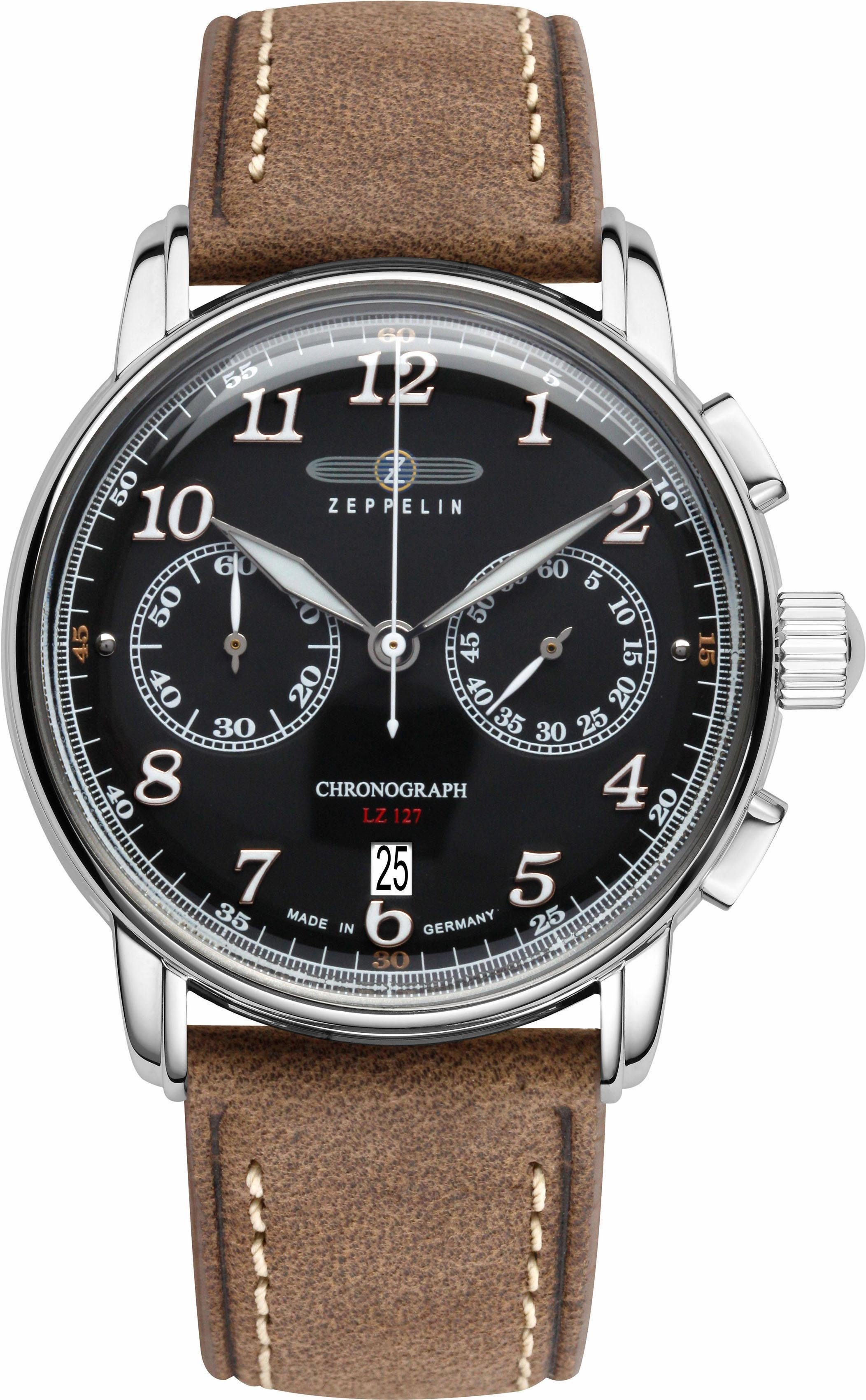 ZEPPELIN Chronograph »LZ 127 Graf Zeppelin, 86782« made in Germany
