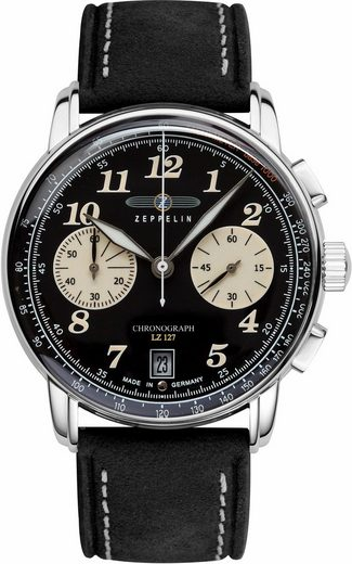 ZEPPELIN Chronograph »LZ 127 Graf Zeppelin, 86743«, made in Germany