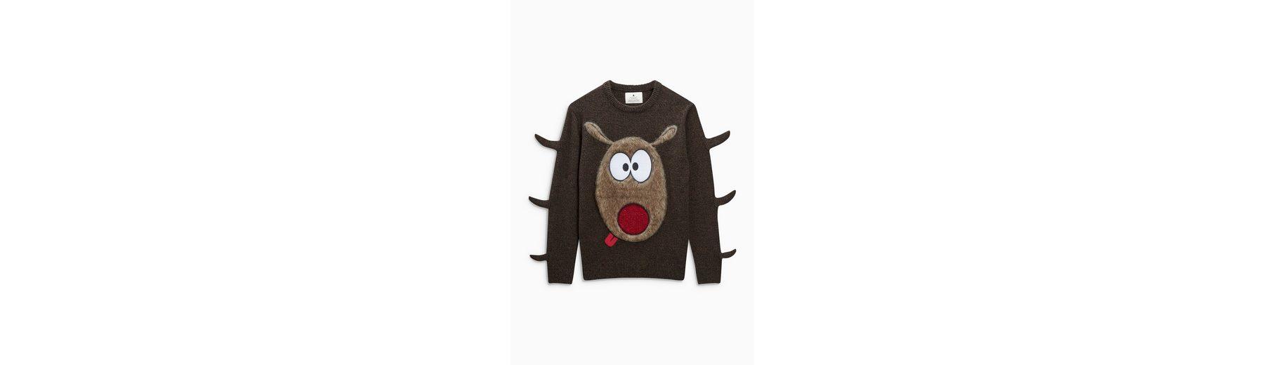 Next Weihnachtspullover mit Rudolphmotiv Amazon Online Offizieller Online-Verkauf gnSLgJC