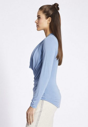 Khujo Waterfall Shirt Meina With Waterfall Collar