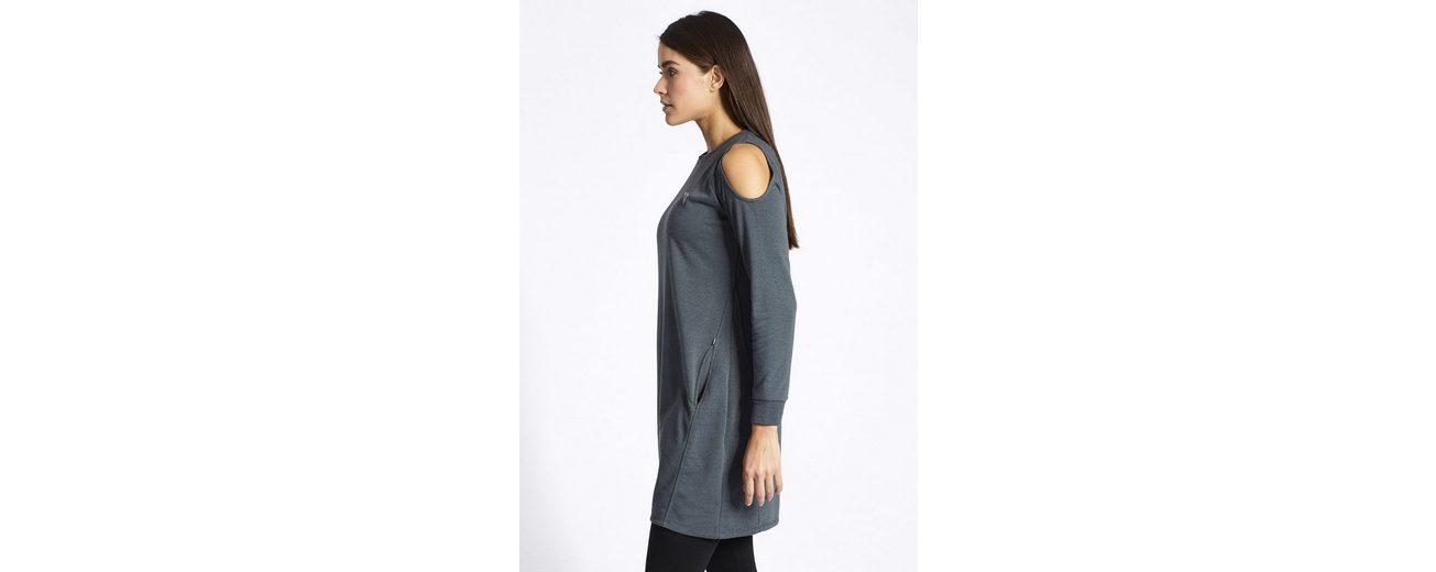 khujo Shirtkleid LOULA, mit Cut-outs im Schulterbereich