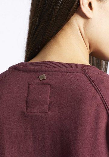 khujo Sweatshirt CAJA, mit Print auf der Front