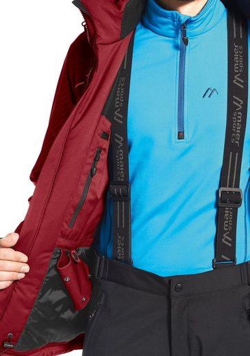 Maier Sports Skijacke Stalden M, PFC-frei ausgerüstet