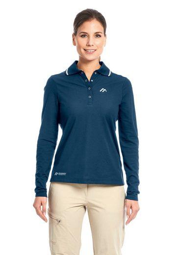 Maier Sports Poloshirt Comfort LS W