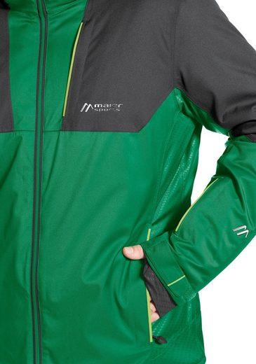 Maier Sports Skijacke Samedan M, PFC-frei ausgerüstet