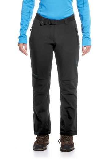 Maier Sports Softshellhose Tech Pants W, für Winter-Outdoor