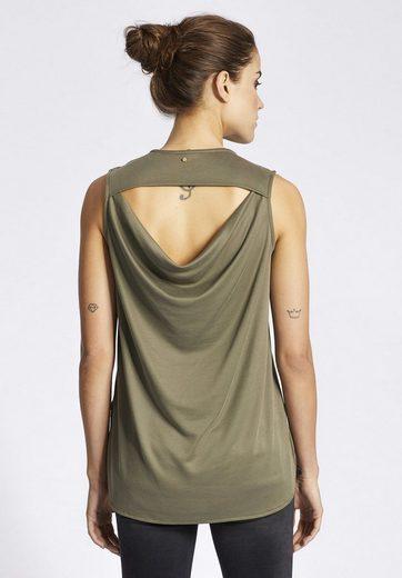 khujo Trägertop EIRIS, mit Rückenausschnitt