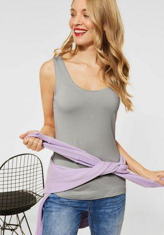STREET ONE Marškinėliai be rankovių »Anni« perfek...