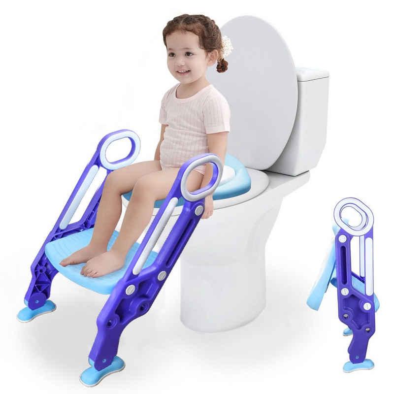 Einfeben Toilettentrainer »Toilettentrainer WC Sitz Töpfchentrainer Kindertoilette mit Treppe Trittleiter«