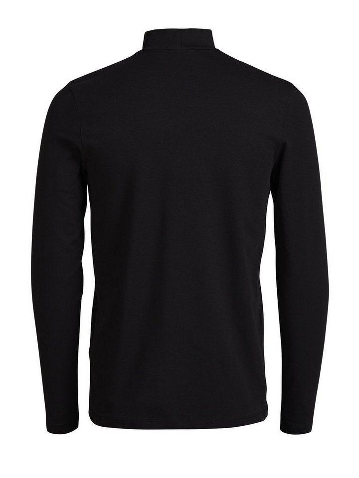 jack jones lang rmeliges rollkragen t shirt mit langen rmeln online kaufen otto. Black Bedroom Furniture Sets. Home Design Ideas