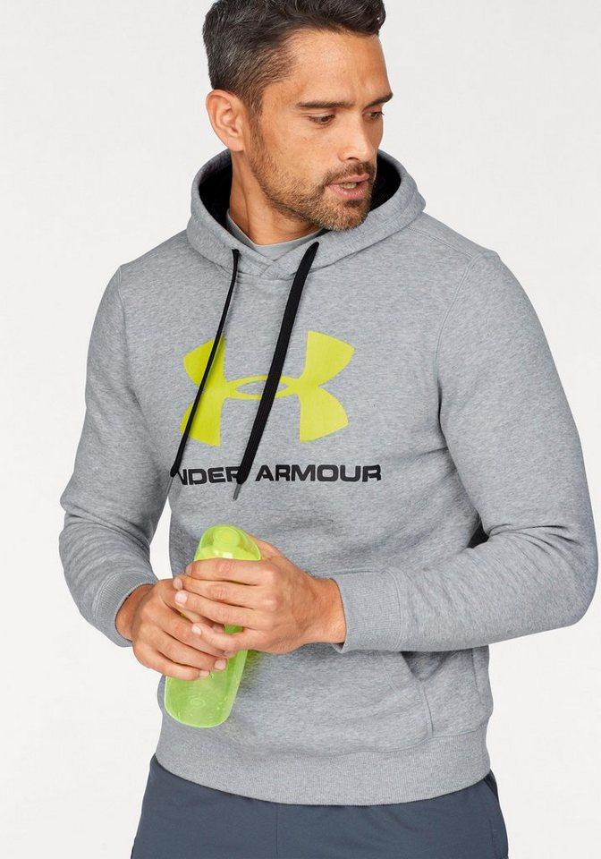 Under Armour® Kapuzensweatshirt »RIVAL FITTED GRAPHIC HOODIE« online ... 8cd43526d1