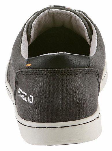 PETROLIO Sneaker, mit modischem Print an der Seite